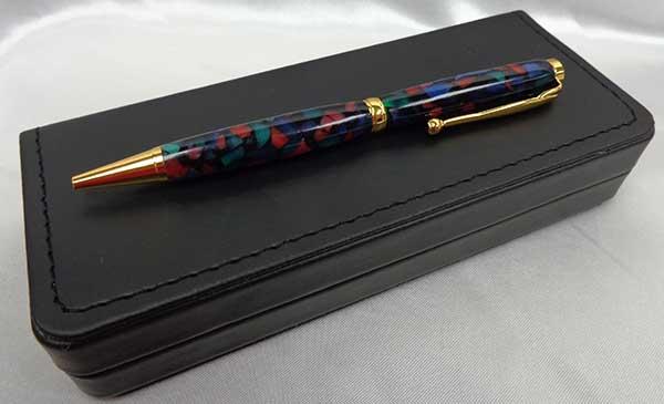Pen - Multi-Color Acrylic Slimline