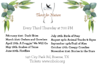 a Thirst for Nature event: Trail of Ales at CNC