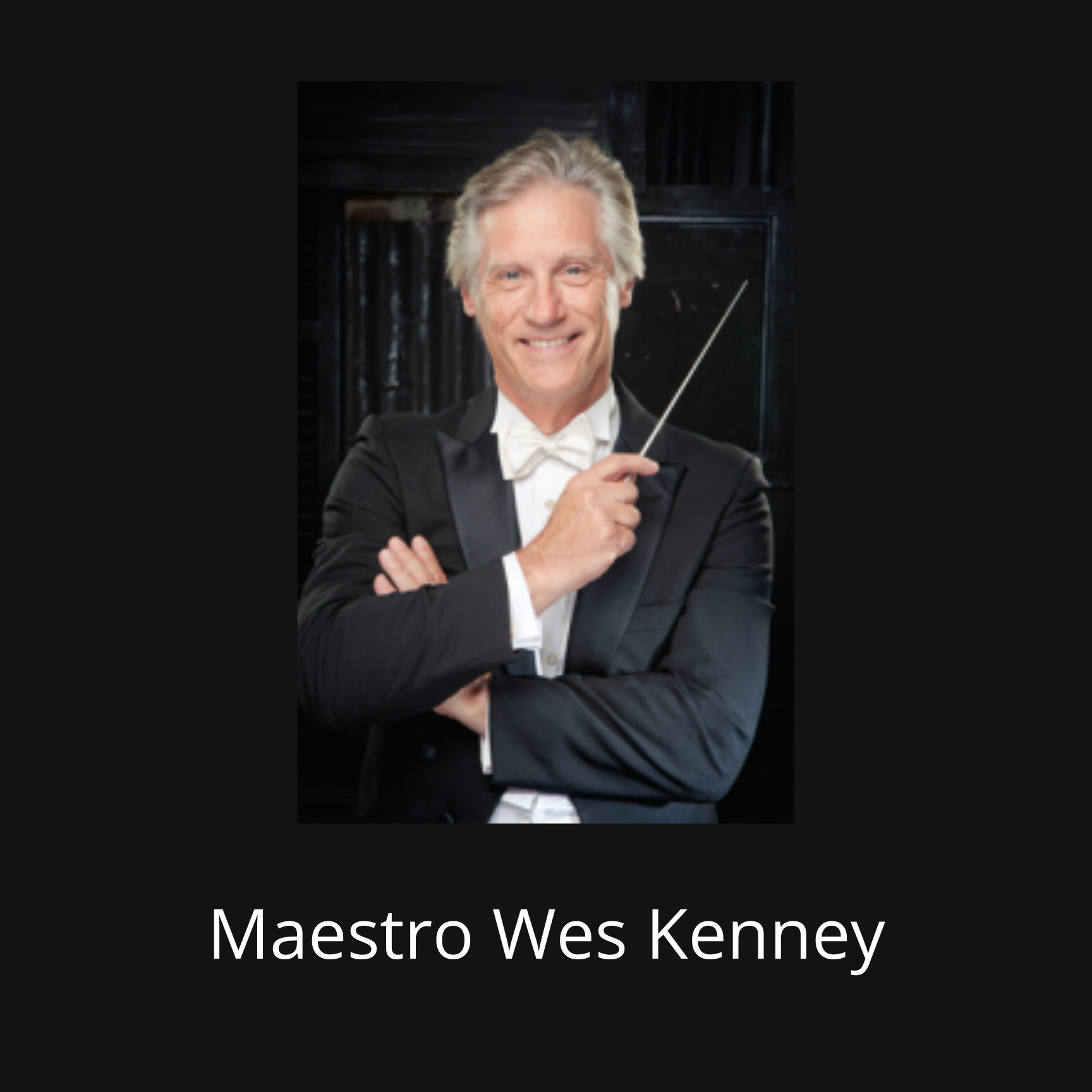 Maestro Kenney bestowed prestigious honor by The American Prize