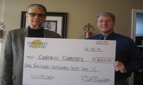 Wellness Day Event Benefits Catholic Charities