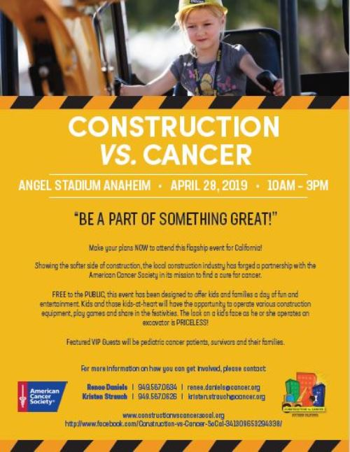 Construction vs. Cancer Fun!