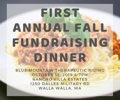 Blue Mountain Therapeutic Riding Fall Fundraising Dinner