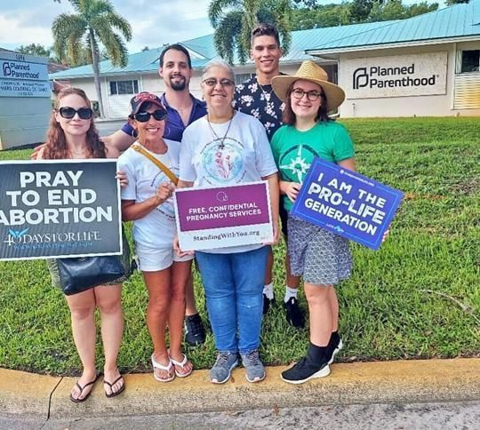 Pro-life event draws advocates of all ages
