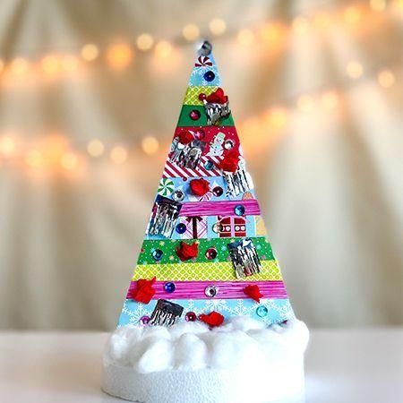 Festive Collage Tree