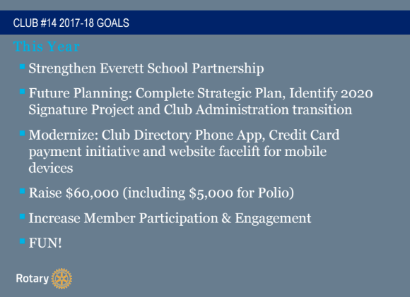 Goals 2017-18
