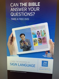 "Specifically for ASL- ""Can the Bible Answer Your Questions?"" (Not promoting any specific tract, book, or brochure)"