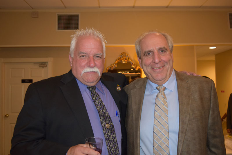 Board member Terence Mullen and Terry Grafmuller