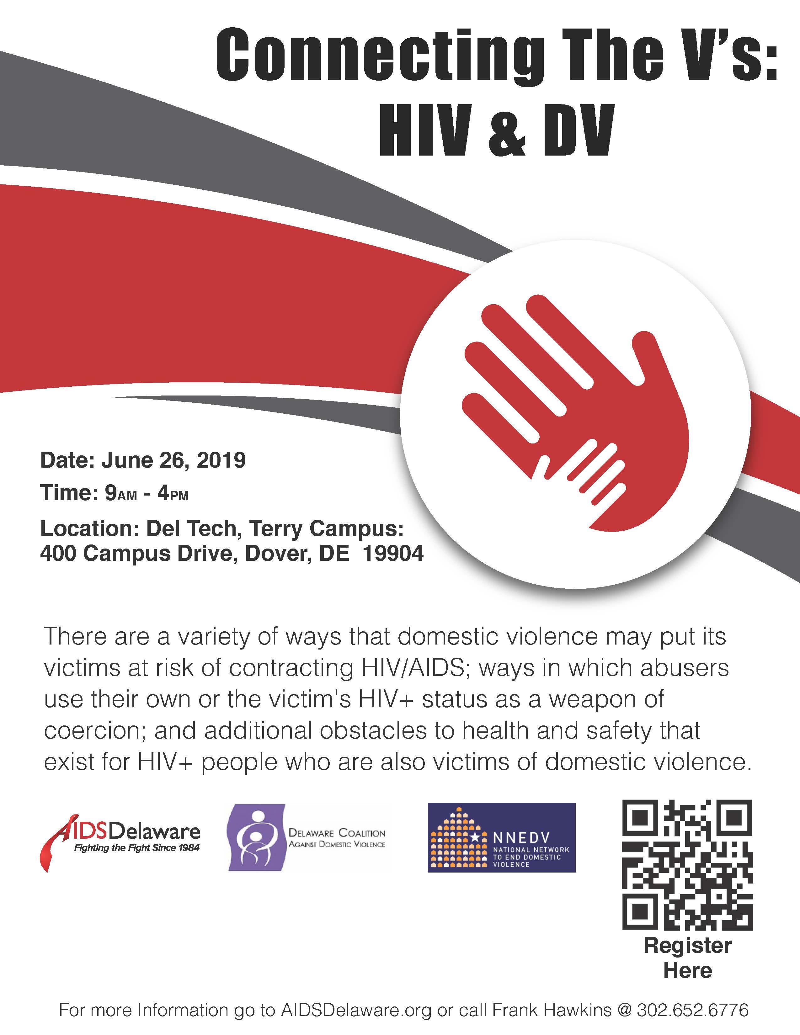 Connecting the V's: HIV & DV
