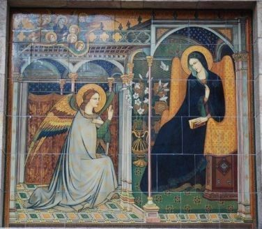 Feast of the Annunciation of Our Lord (Art from Assisi, Italy)
