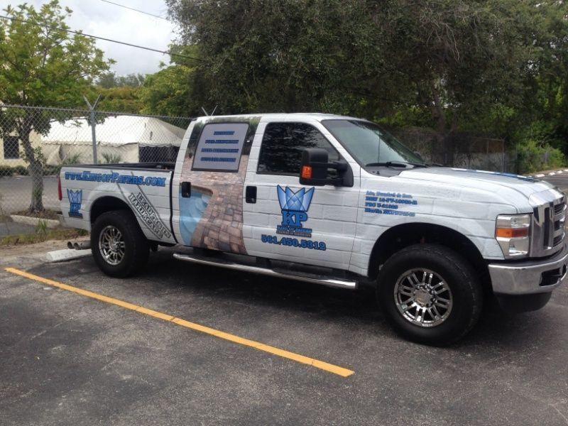 Best Sign Company - Delray Beach - Full Truck Wrap