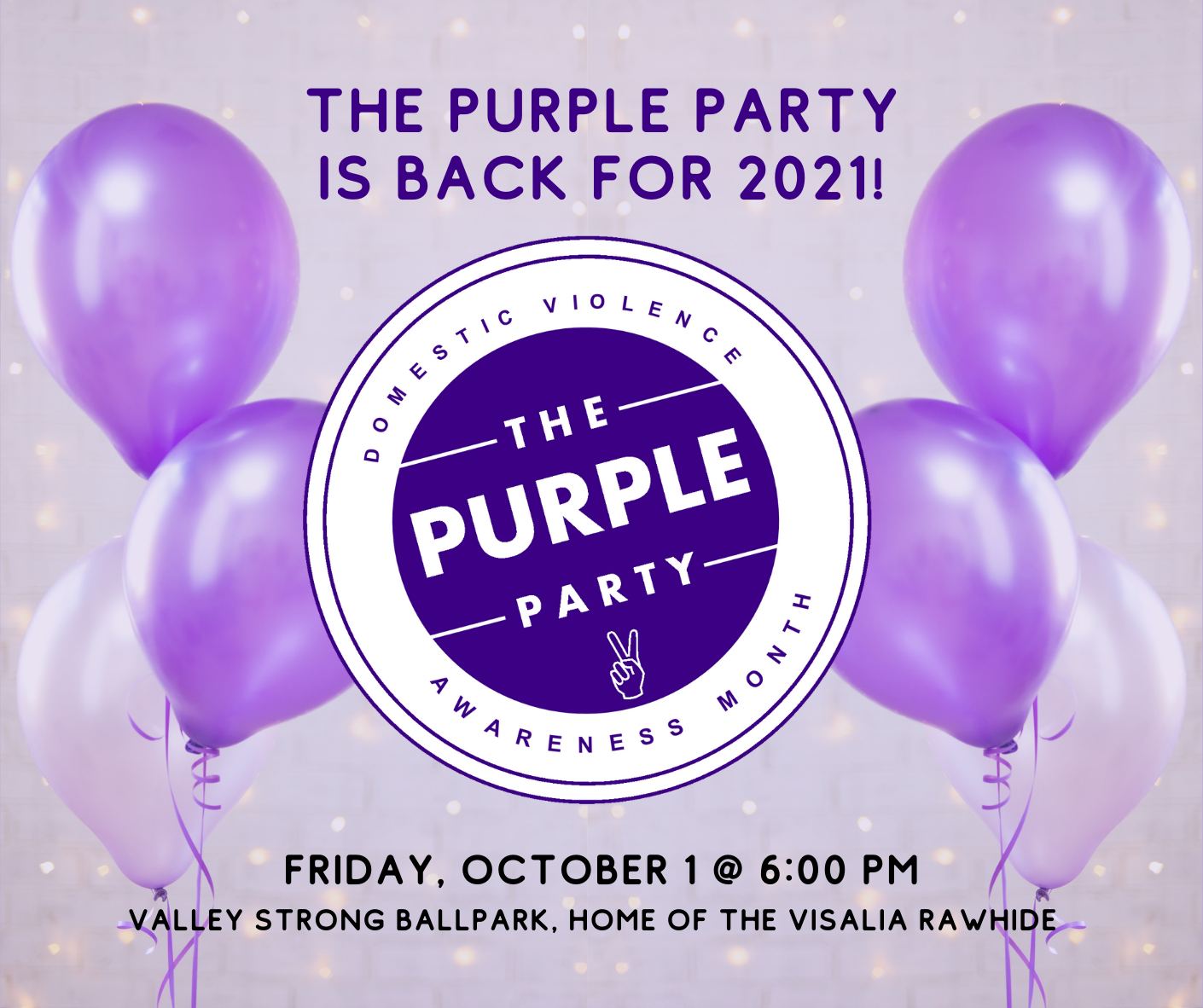 The Purple Party is back!