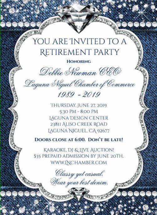 CEO Debbie Newman's Retirement Party