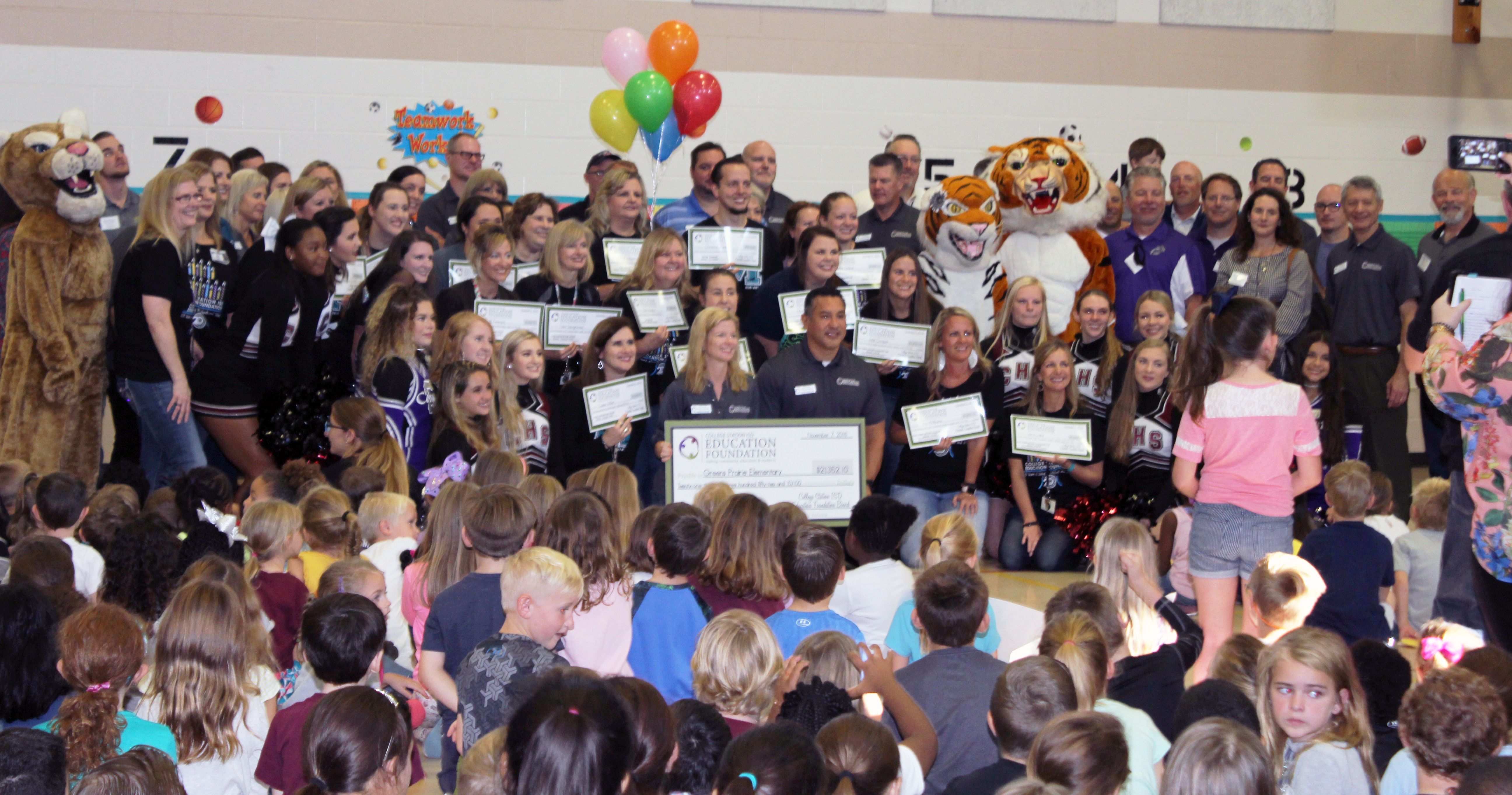 CSISD Education Foundations hands out over $150,000 in grants