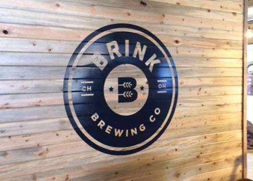 Brink Brewing Company Logo Wall Graphics