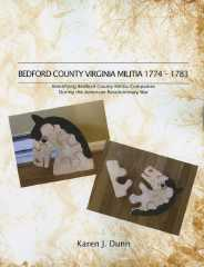 Bedford County Virginia Militia 1774-1783