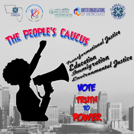 Bi-State Presidential People's Caucus - January 12, 2020 in Davenport IA