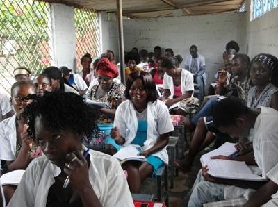 St. Scholastica School Takeover in Angola