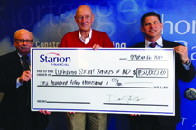 Lutheran Social Services of North Dakota receives donation from Starion Financial