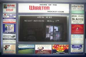 Hockey Arena Advertising Board