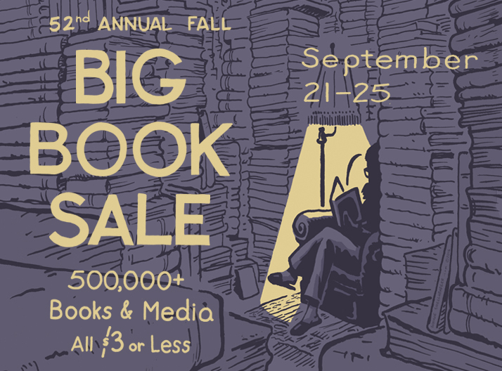 Annual Fall Big Book Sale