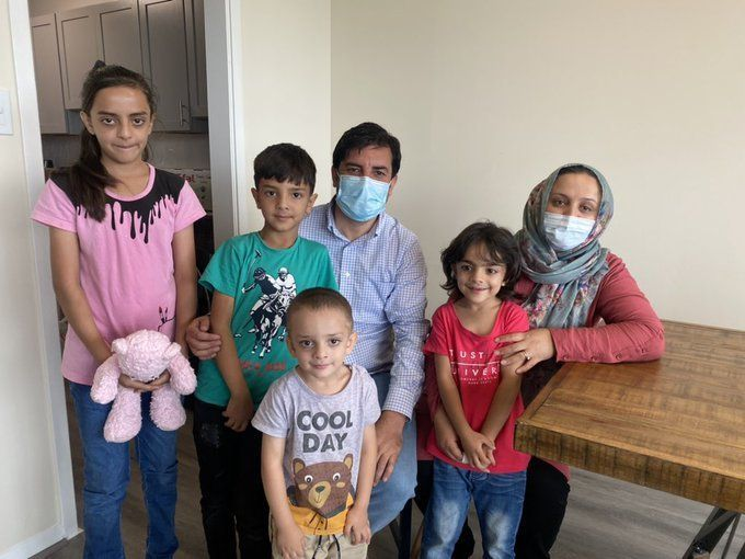 'I can't express what's in my heart': Volunteers help Afghan refugee family resettle in Va