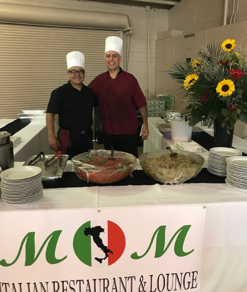 M & M Italian Restaurant & Lounge - The Clam Chowder, Pesto Pasta & Bruschetta were scrumptious.