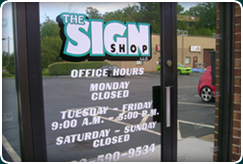Welcome to the Sign Shop