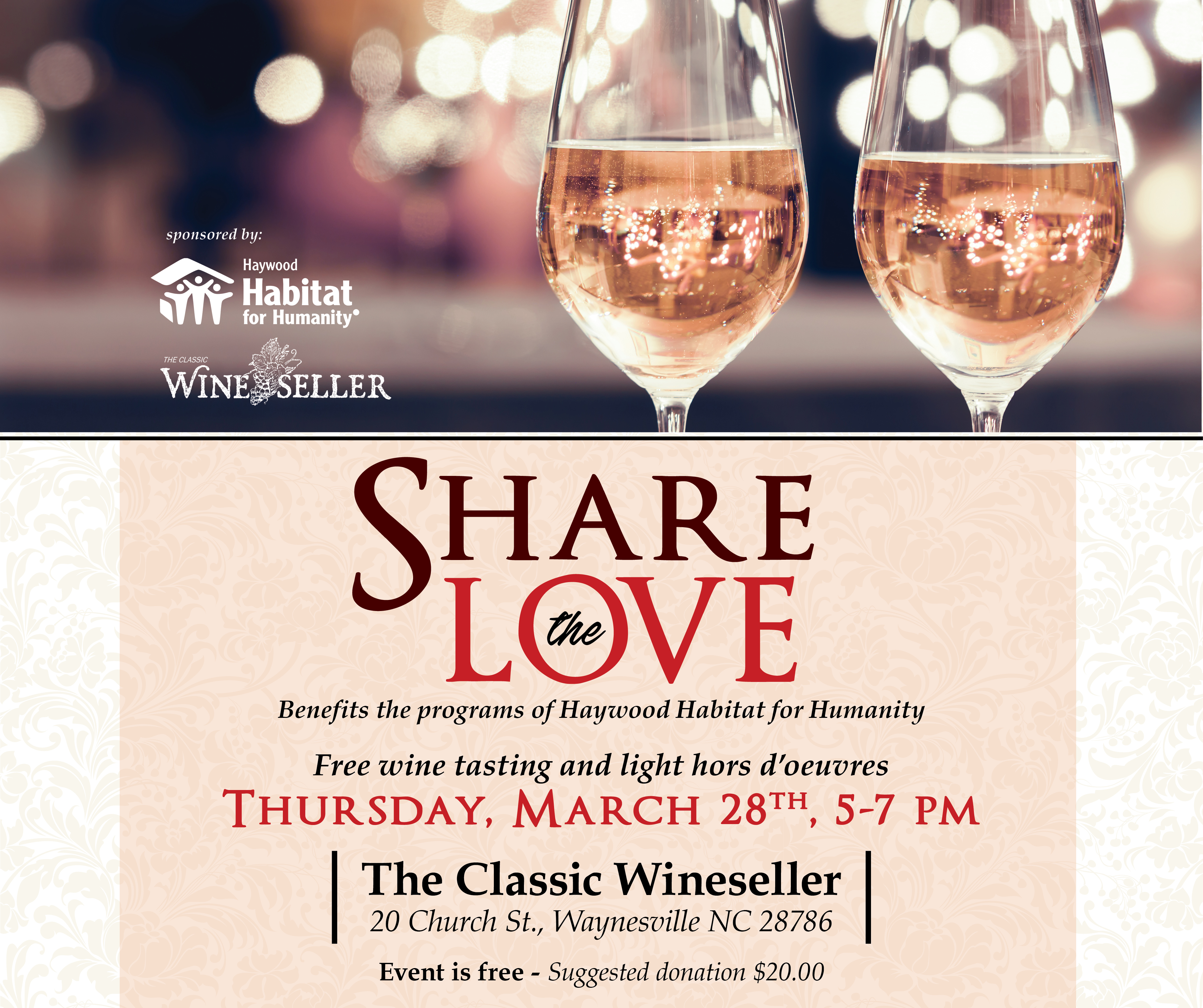 Share the Love in March