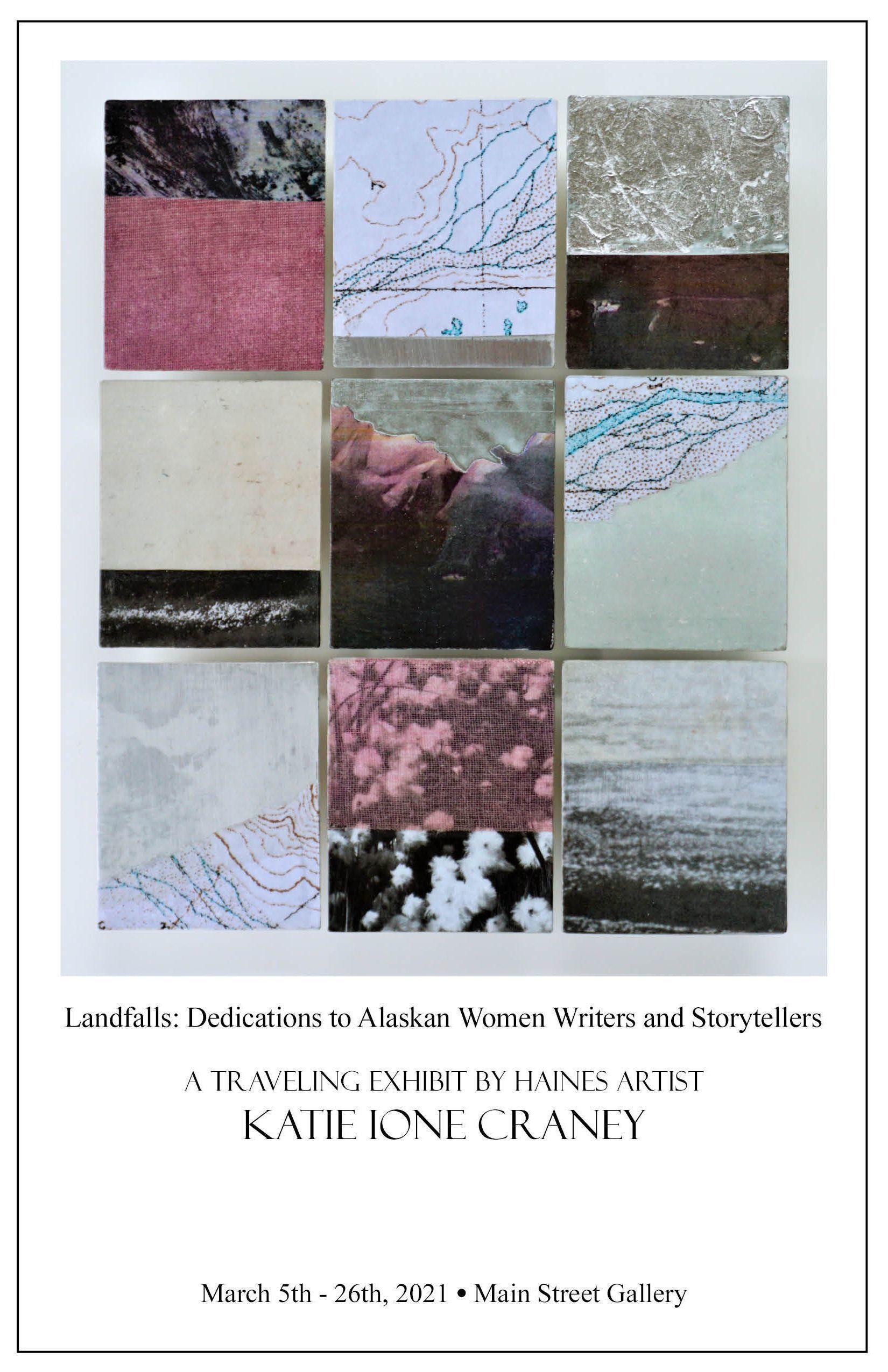 Landfalls: Dedications to Alaskan Women Writers and Storytellers