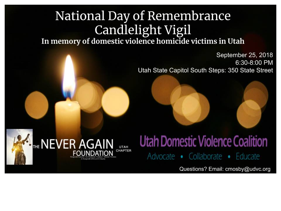 Candlelight Vigil | September 25, 2018