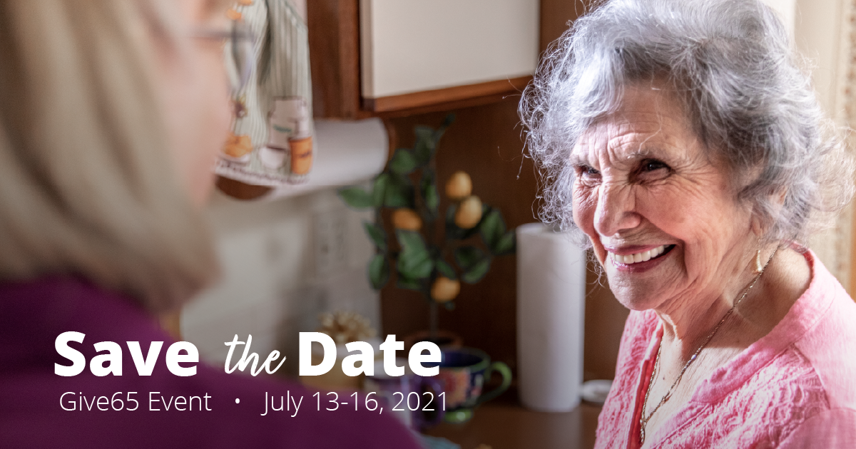 Give65 Hope for Seniors Event