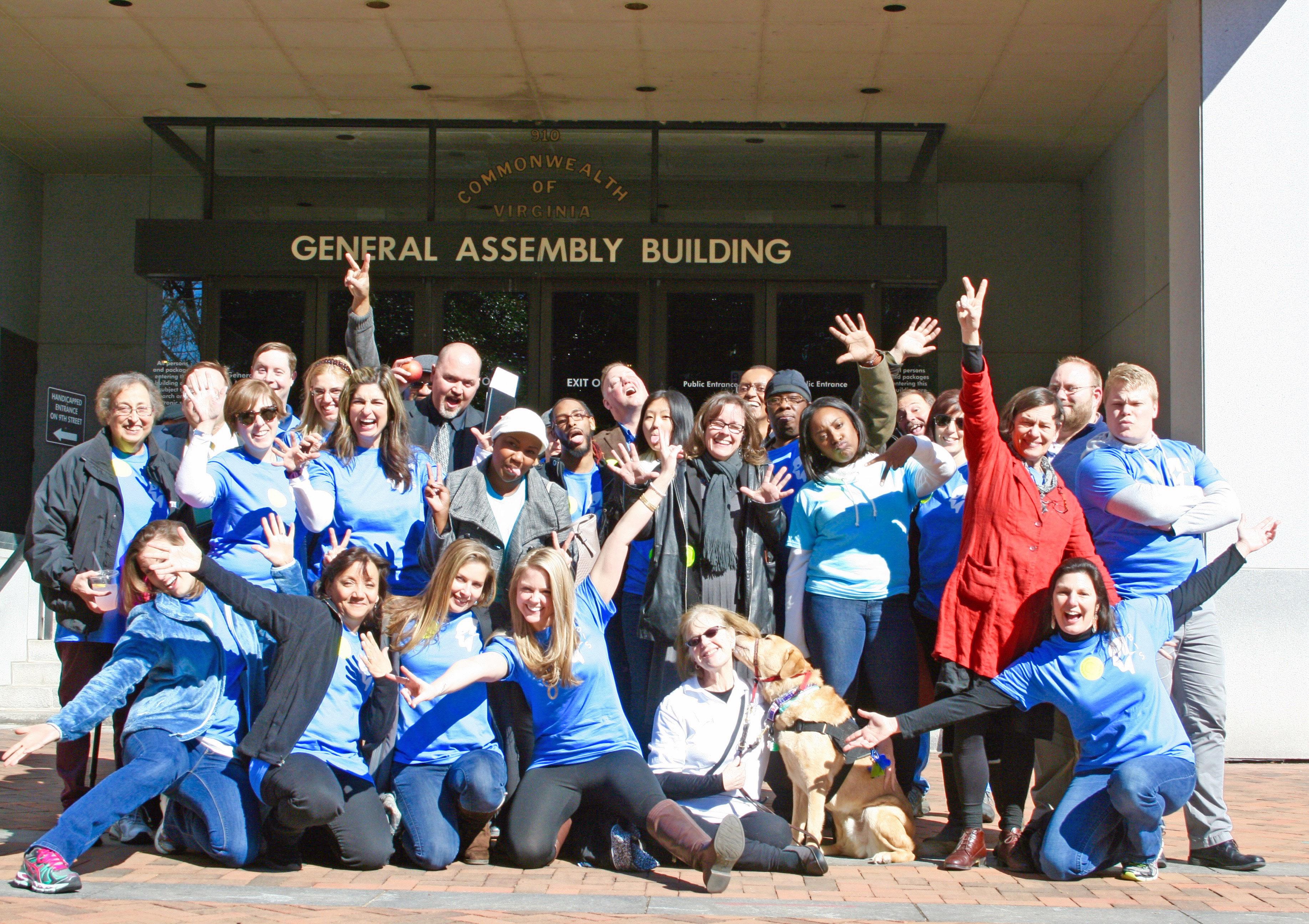 Advocacy Trip to Richmond