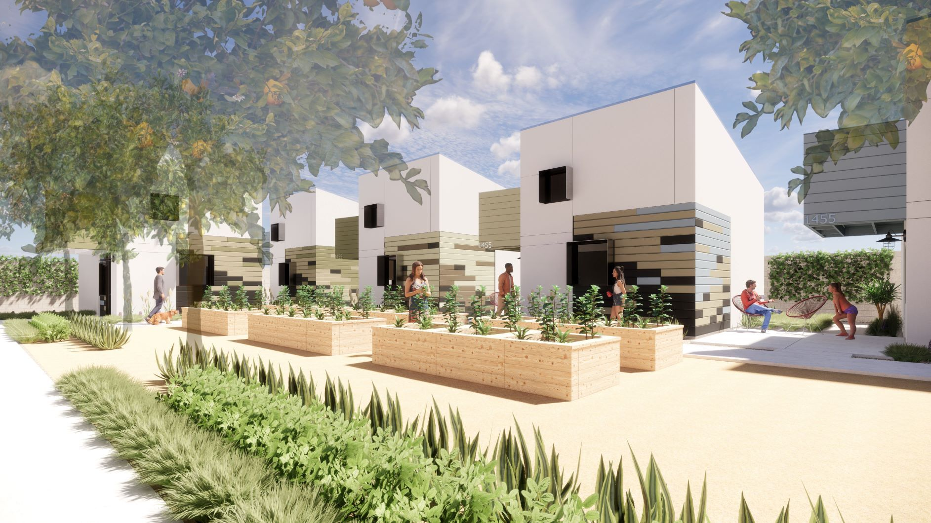 Artist Rendering of Central Courtyard