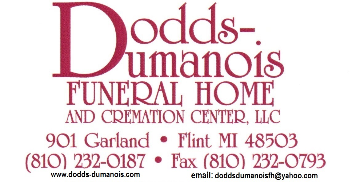 Thank you to our Floral Sponsor~Dodds Dumanois Funeral Home