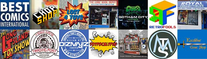 Some of the best collectibles vendors in the tri-state area!