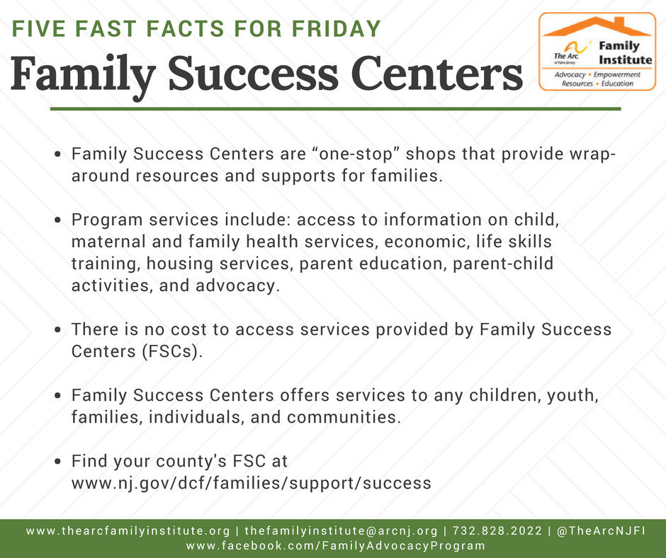 Family Success Centers