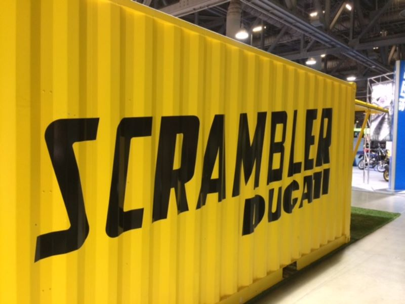 Shipping Container Lettering