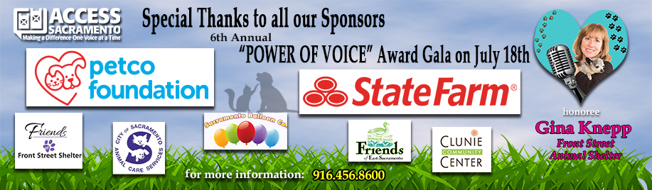 Power of Voice thanks all sponsors