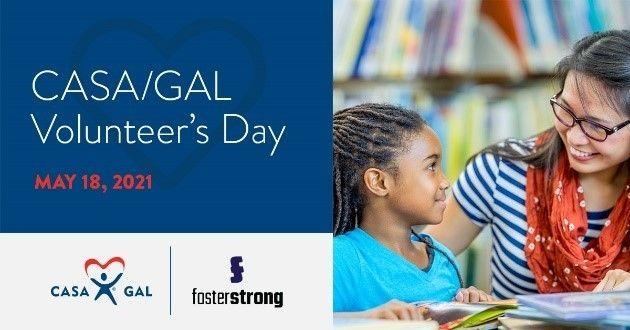 Reminder: CASA/GAL Volunteer's Day Virtual Celebration – May 18