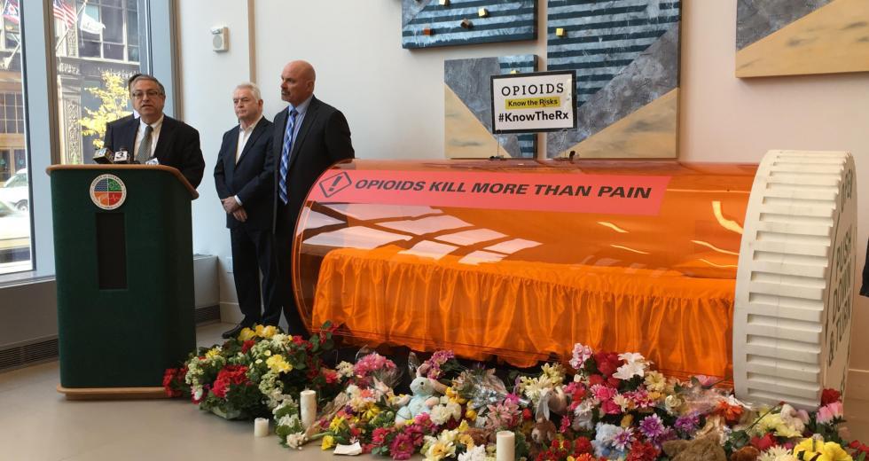 Cuyahoga Co. Sues Opioid Drug Makers, Distributors
