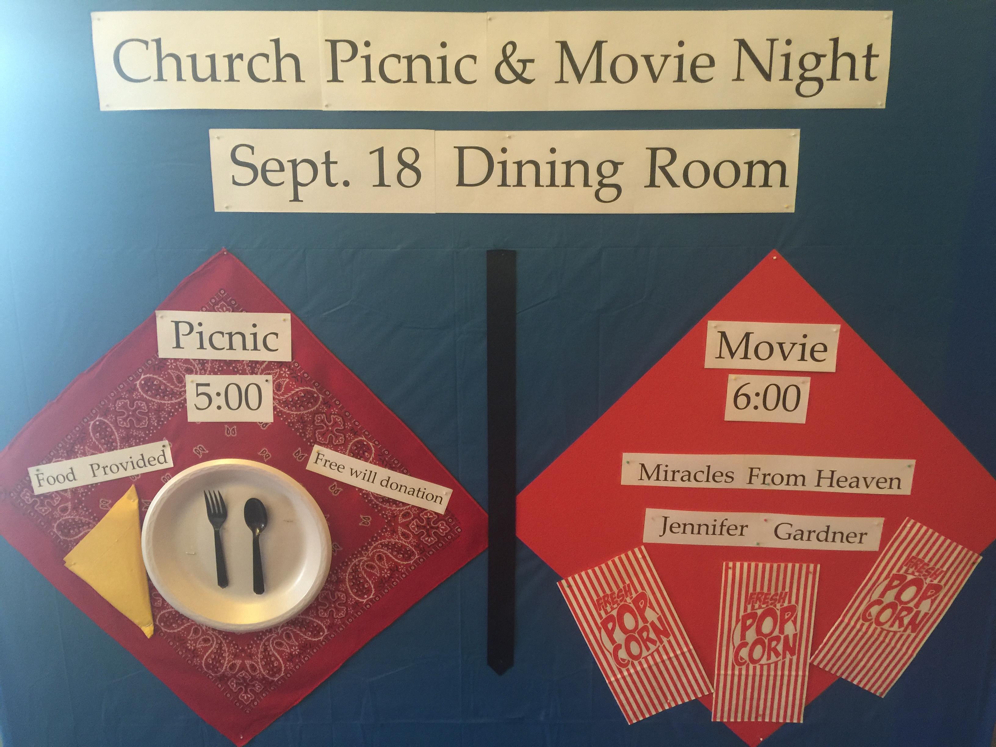 Picnic and Movie Night at Centenary