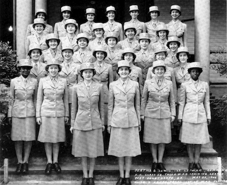1942: Creation of Women's Army Corps (WAC).