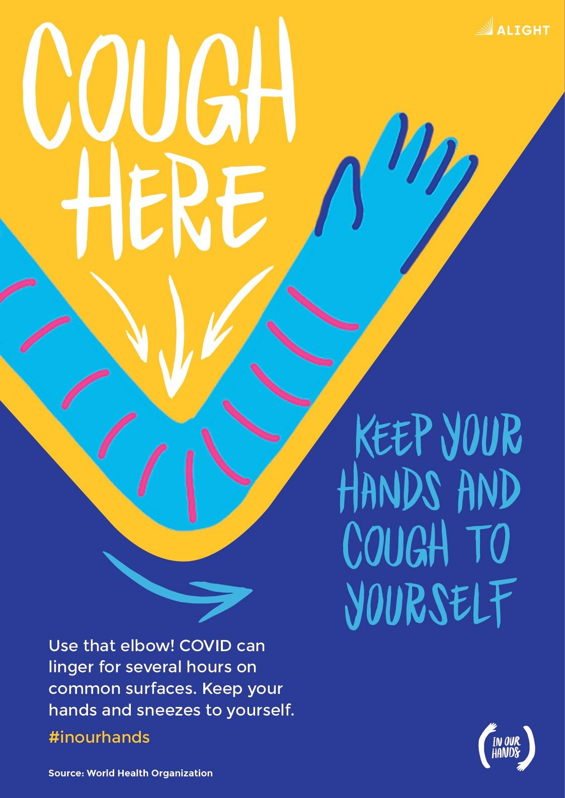 Cough Here Poster