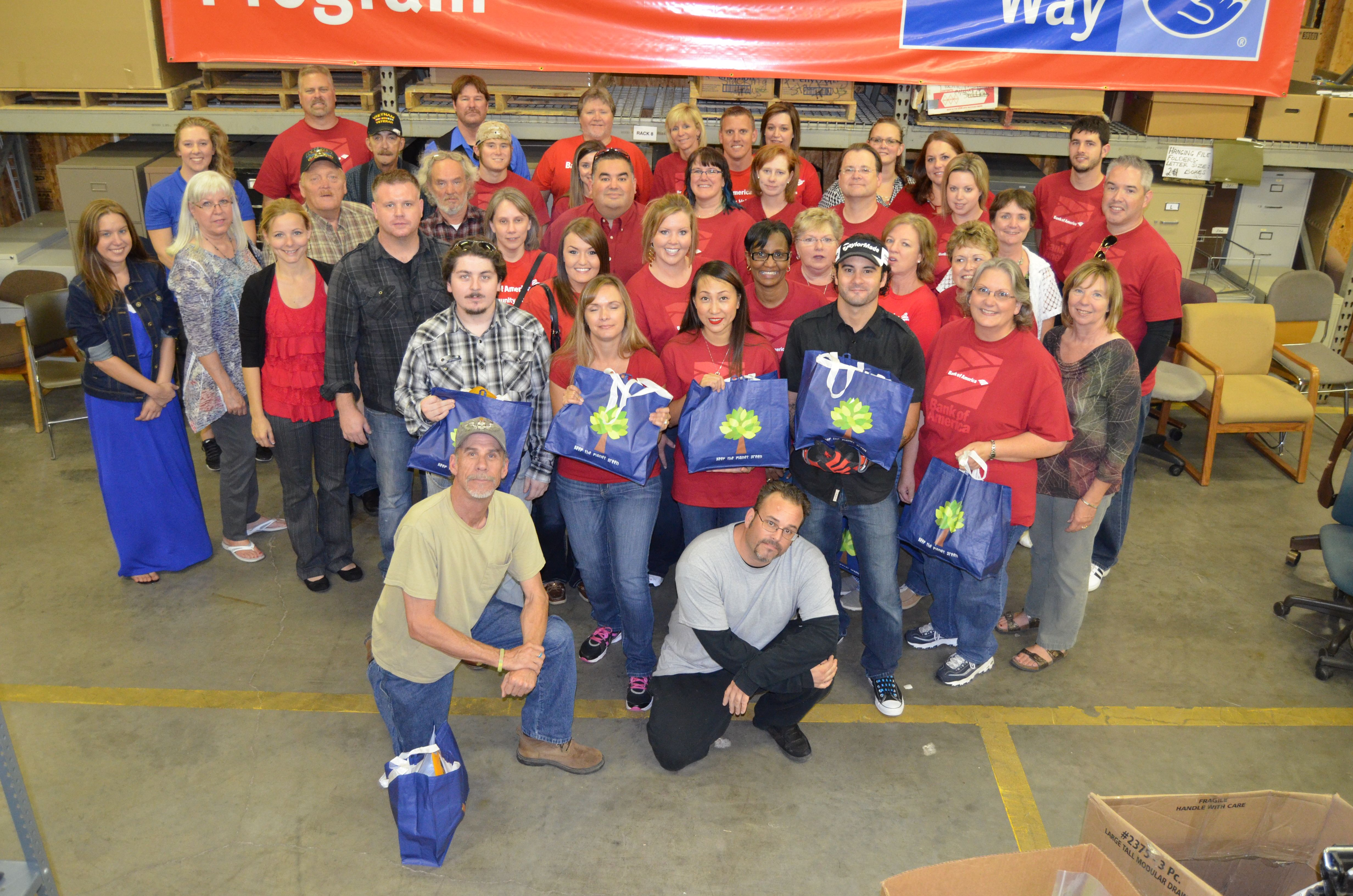 MHA Participates in National Day of Service and Remembrance Project