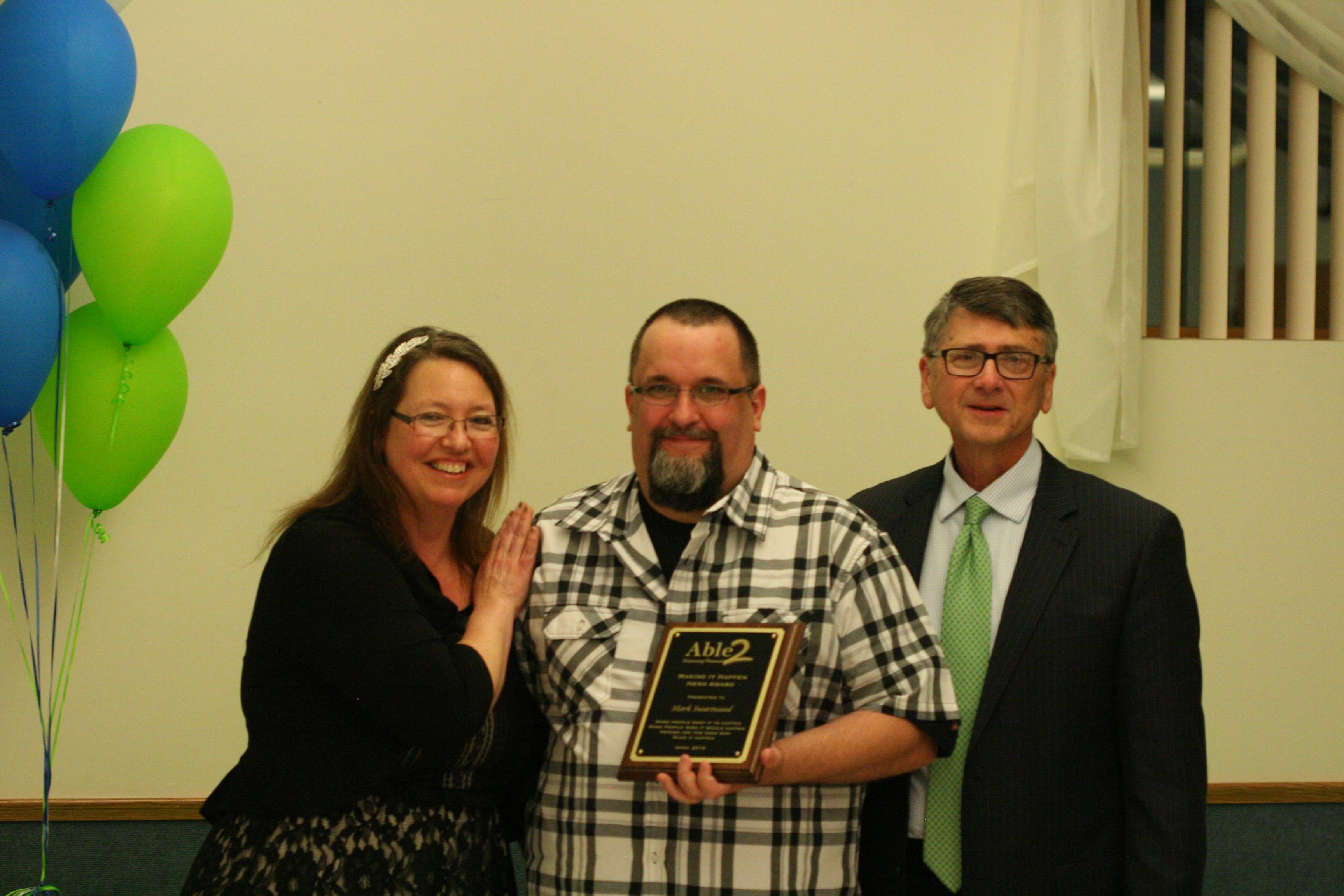 Mark Swartwood, Making It Happen Award Recipient