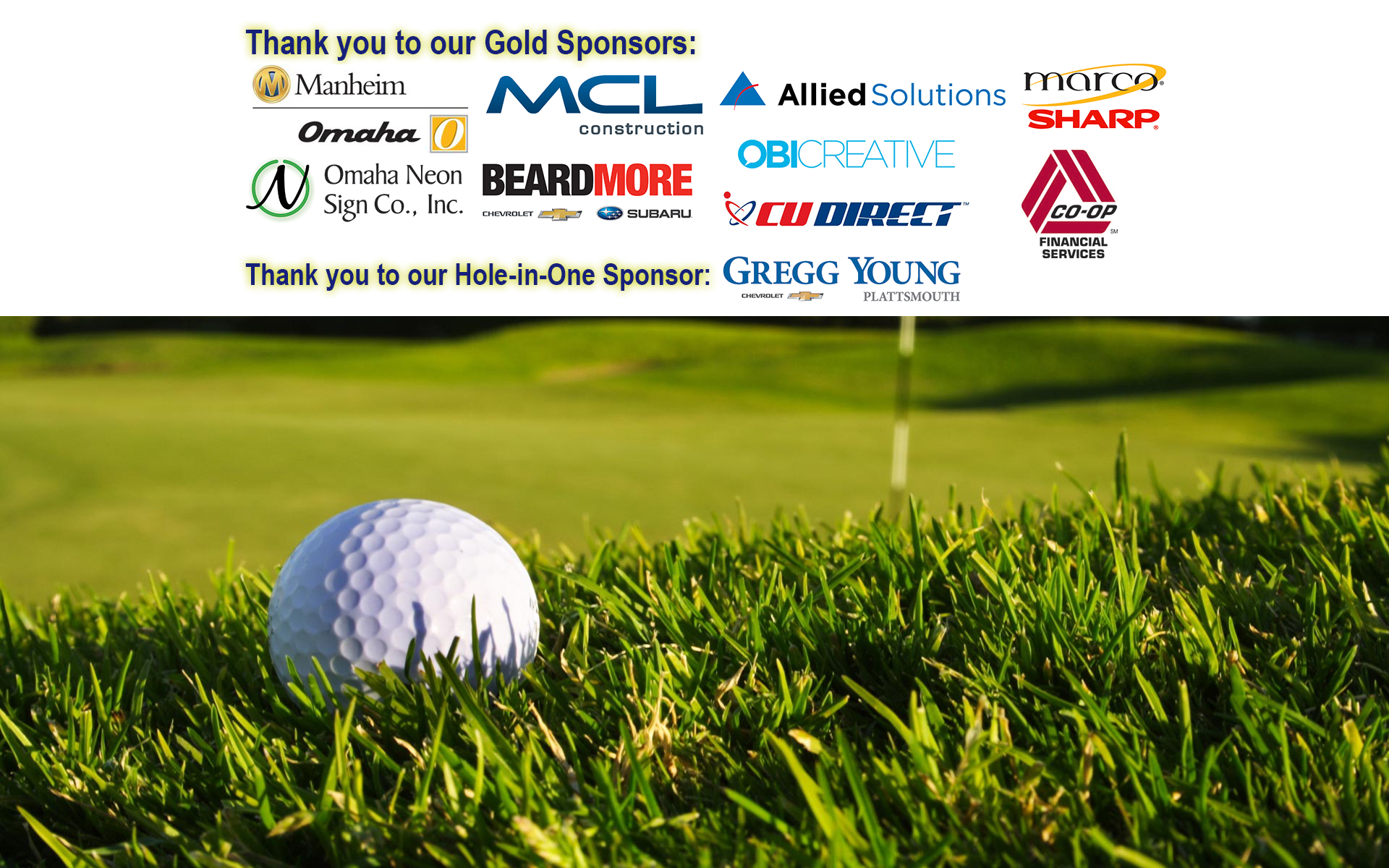 2018 Golf Outing Fundraiser