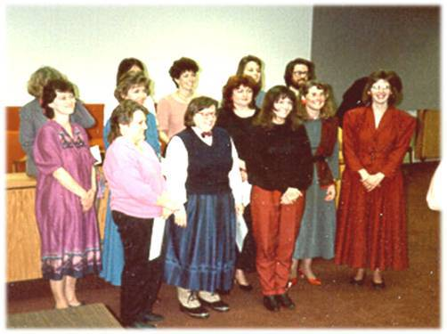 First group of CASA volunteers in AK- 1987