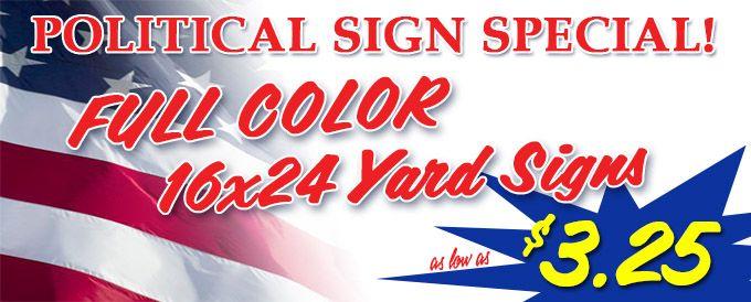 Political Signage