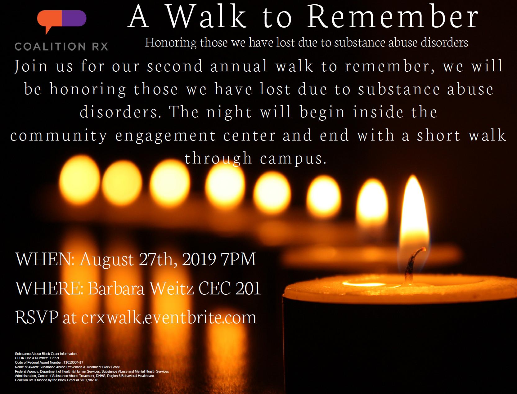 A Walk to Remember-Prayer Walk