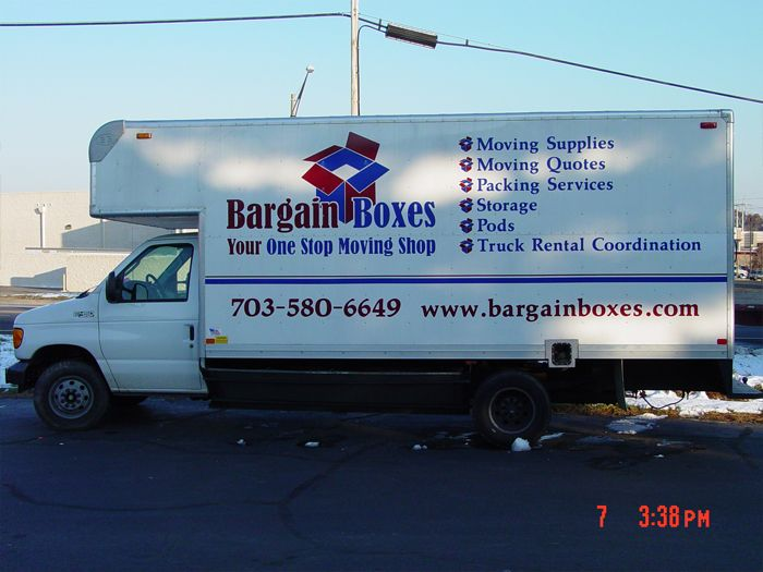 Bargain Boxes Truck Graphics